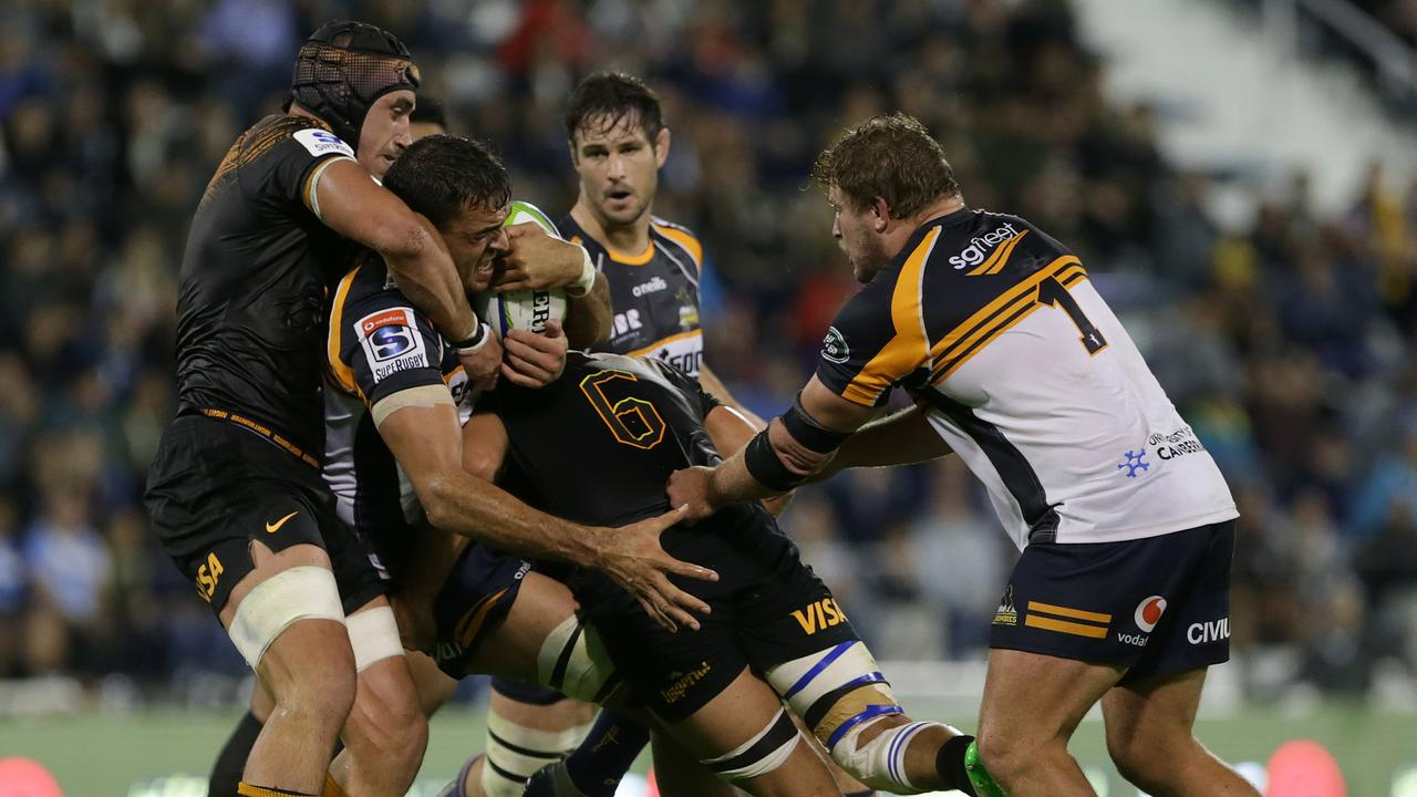 The Brumbies are aiming to silence the Jaguares' home crowd in their Super Rugby semifinal.