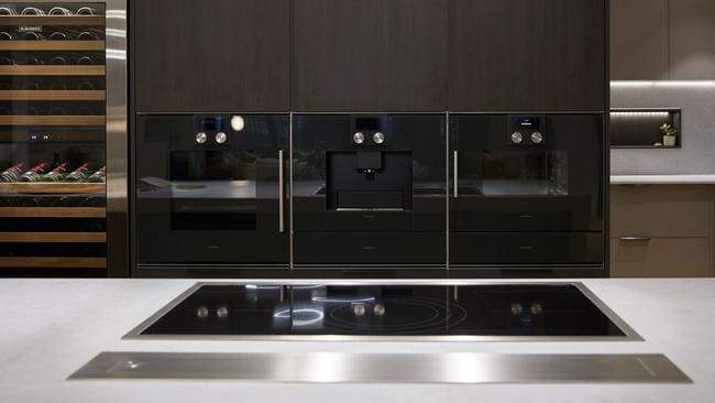 They also won Gaggenau appliances which included a combi-oven, coffee machine and a stainless steel combi-steam oven. Source: The Block
