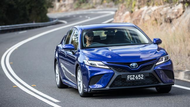 It's a Toyota Camry, but not as we know it  Australia's top