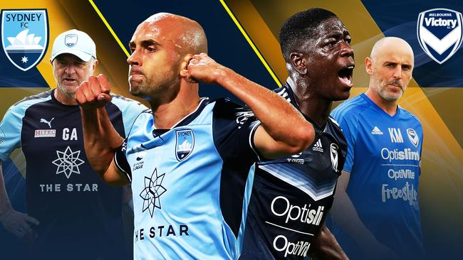 Sydney FC host Melbourne Victory in the A-League semi-finals