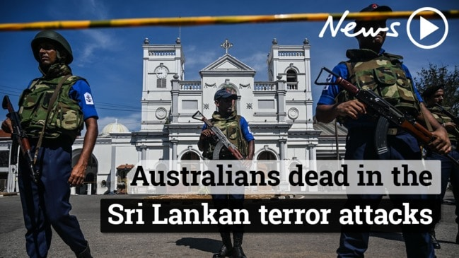Two Australians dead in the Sri Lankan terror attacks