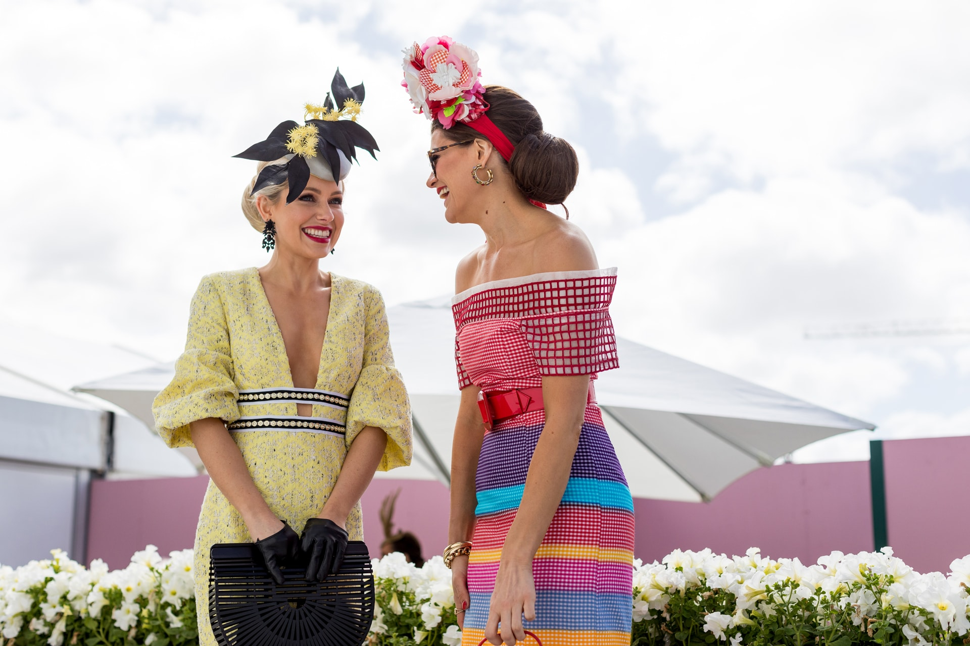 96d7dd842a The best street style from Derby Day 2018 - Vogue Australia