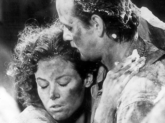 Sigourney Weaver with Bill Murray in Ghostbusters 2. Picture: Supplied