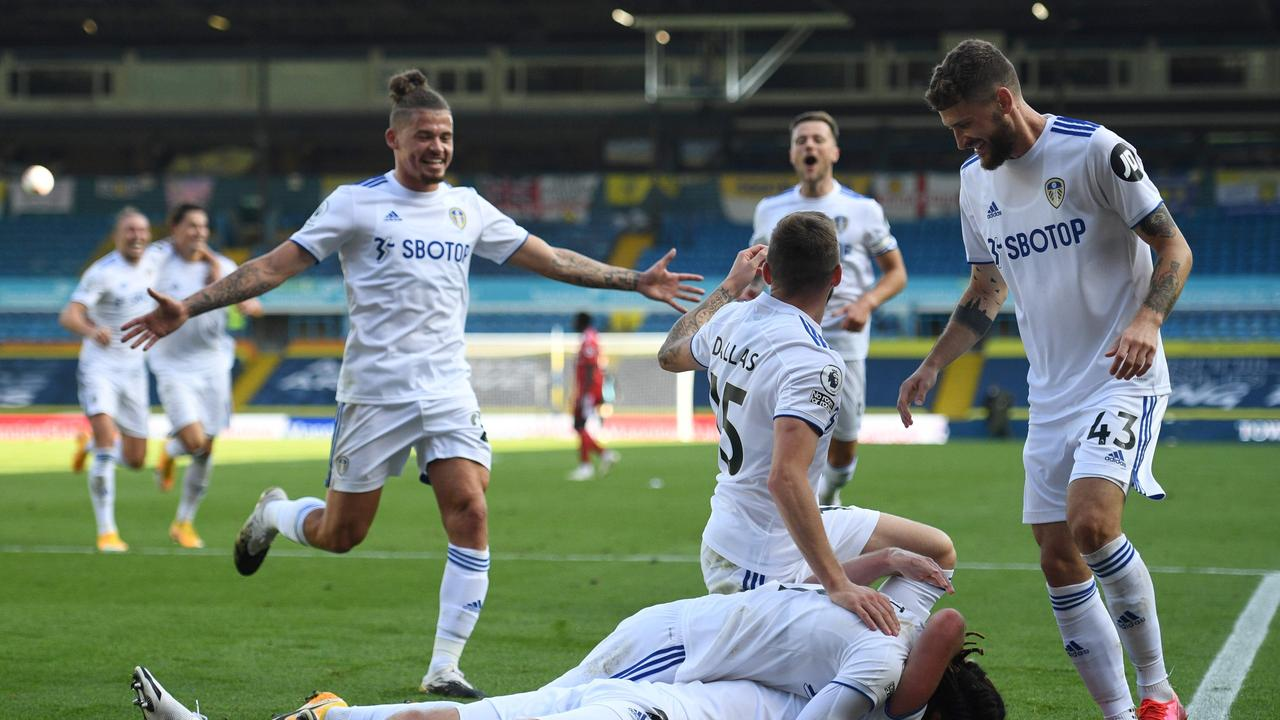 Leeds United won their first Premier League game for 16 years.