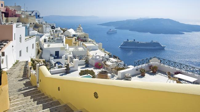 The Mediterranean is the most popular long-haul destination for Australians to take a cruise.
