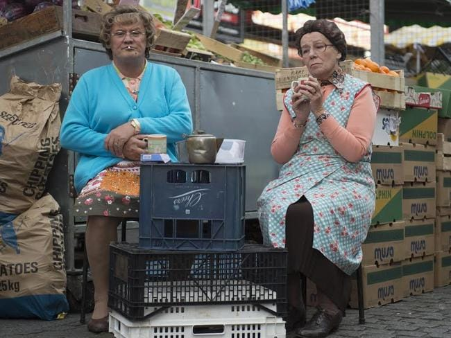 Agnes Brown must protect her market stall from a ruthless developer in the film.