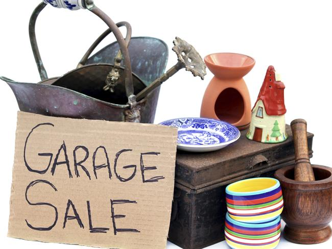 Selling your unused possessions is a quick, tax-free cash injection that can get you back into the black.