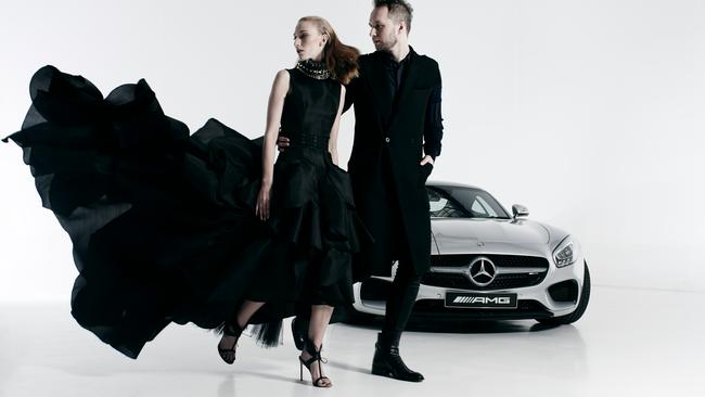 Toni Maticevski will be showing at Mercedez-Benz Fashion Week
