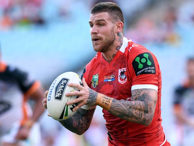 Josh Dugan of the Dragons.