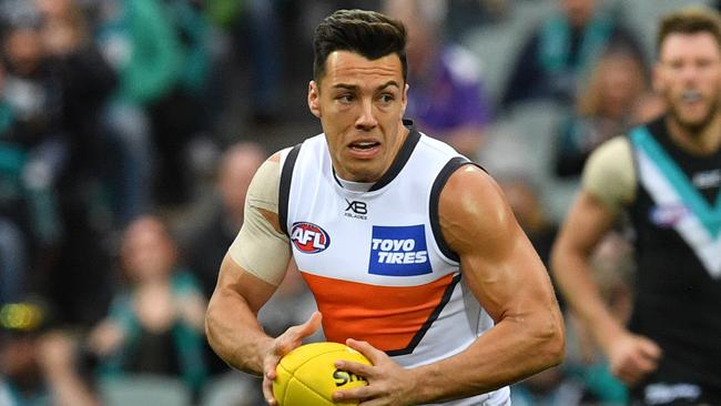 Dylan Shiel has been linked to Essendon. (AAP Image/David Mariuz)