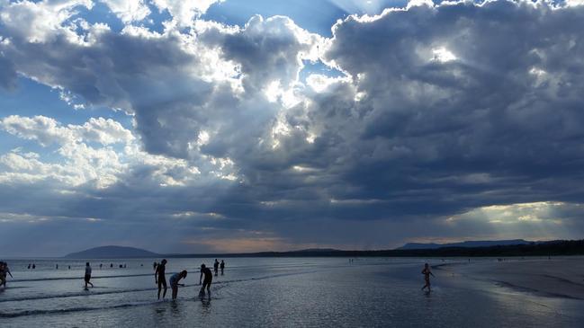 Seven Mile Beach Gerroa where the Sebastians also own property. Picture: Kim Ihnatko