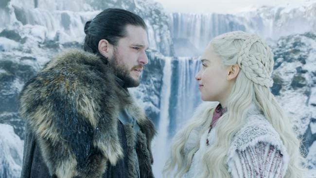 Jon and Dany's relationship has hit a rough patch. Picture: Courtesy of HBO