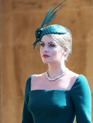 Lady Kitty Spencer stuns at the royal wedding. (Photo by Chris Jackson/Getty Images)