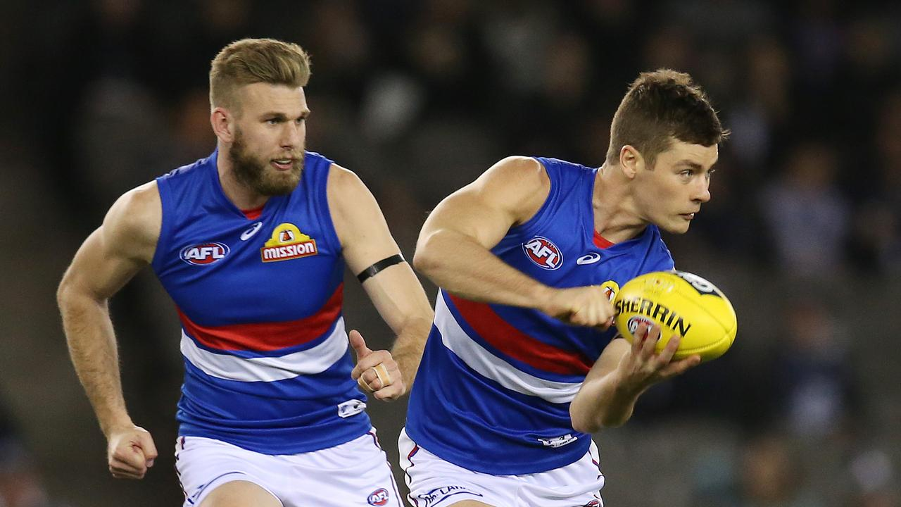 Josh Dunkley had a huge end to his SuperCoach campaign in 2018