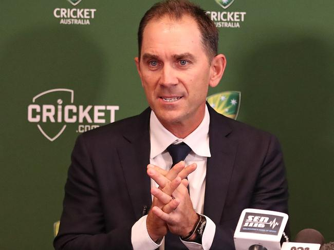 Justin Langer has the job of re-building Australian cricket.