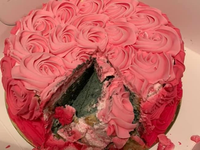 Fine Mum Finds Mould In Birthday Cake From Michels Patisserie Photo Funny Birthday Cards Online Elaedamsfinfo