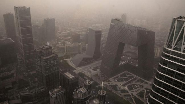 Beijing is known for its shocking air quality. (Photo by Kevin Frayer/Getty Images)
