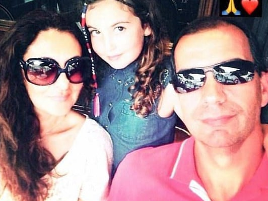 Laleh Sharavesh was arrested when she arrived in Dubai for the funeral of her ex-husband, Paris' father Pedro.