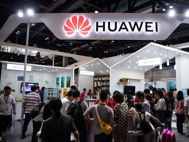 Huawei will launch a new smartphone with Google apps. Picture: AFP