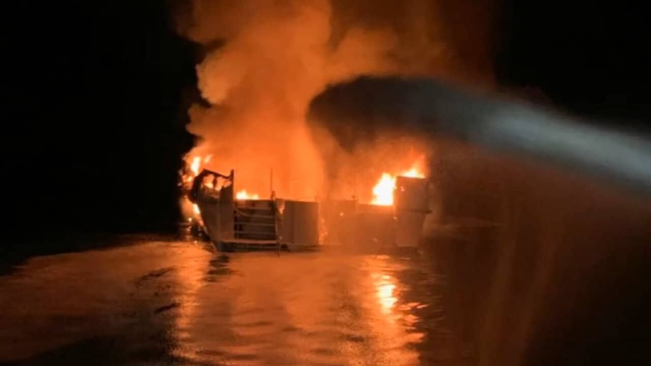 Distress Call Made After Fire Broke Out On Dive Boat Conception