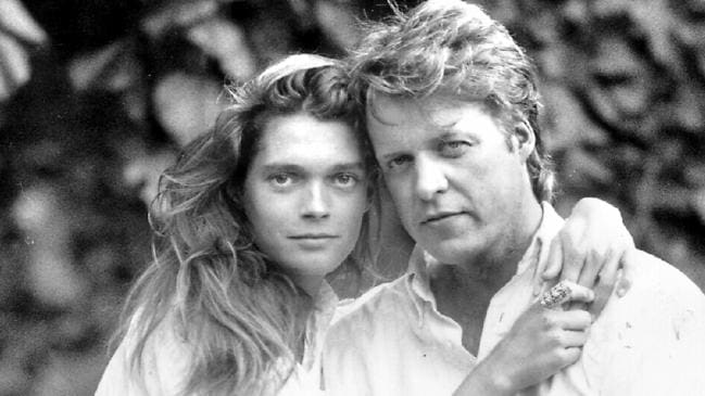 Charles with his first wife, Victoria Lockwood, in 1989. Solo Syndication.