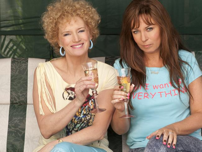 Jane Turner and Gina Riley as Kath and Kim proved to be a ratings winner for Seven.