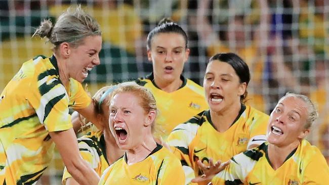 'Holy s***': Late screamer saves Matildas
