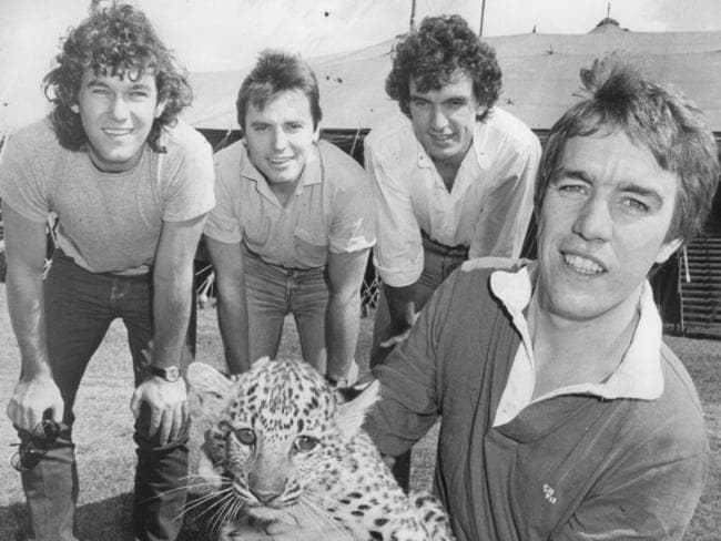 Cold Chisel have been part of the music industry since getting together in Adelaide in 1983. Picture: News Corp Australia