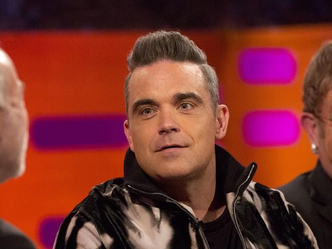 Robbie Williams thinks the stigma around sex addiction is similar to former taboos around mental health issues. Picture: Isabel Infantes.