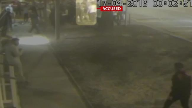 Supreme Court releases footage of the fight that led to the one-punch death of Melbourne teenager Patrick Cronin