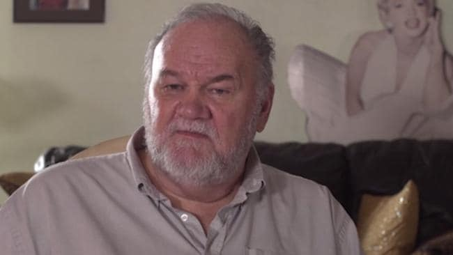 Thomas Markle recently appeared in a paid interview for Channel 5, 'My Story. Thomas Markle' in which he similarly slammed his daughter. Picture: Channel 5.