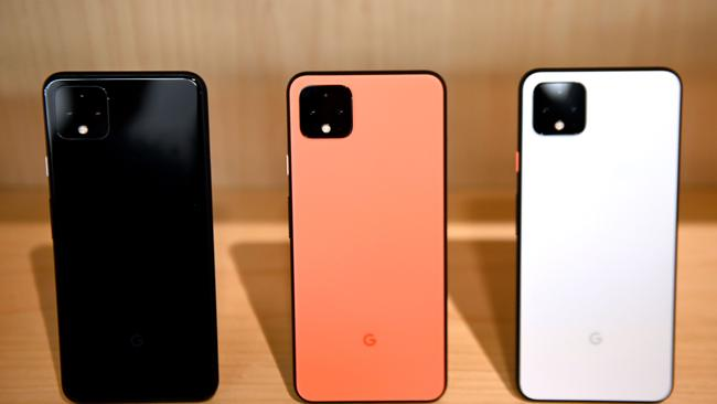 The Pixel 4 and Pixel 4 XL are available in black, white, and a limited edition orange.