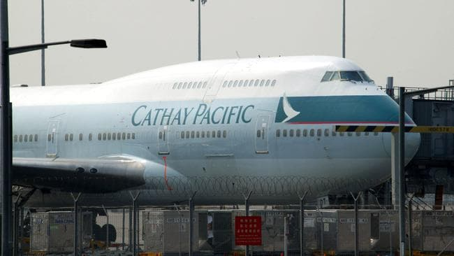 Cathay Pacific is Hong Kong's flagship carrier. Picture: Christian Keenan/Getty Images