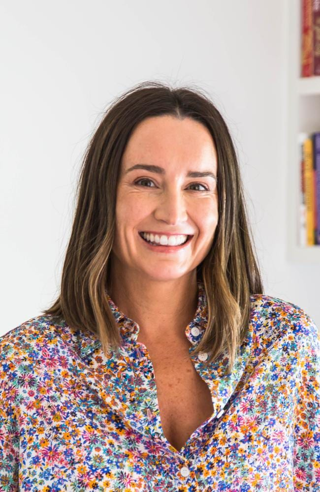 The former publishing exec has fulfilled a lifelong dream by writing her first book. Picture: HarperCollins