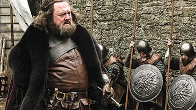 Robert Baratheon was more into hunting than helping his kids.