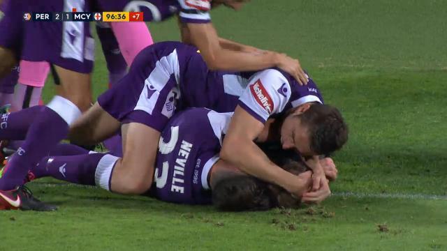 Perth's last-gasp winner
