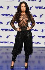 Demi Lovato attends the 2017 MTV Video Music Awards at The Forum on August 27, 2017 in Inglewood, California. Picture: Getty