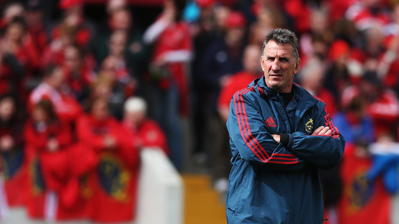 Rob Penney took charge of Munster for two years and won PRO 12 coach of the year in 2014.