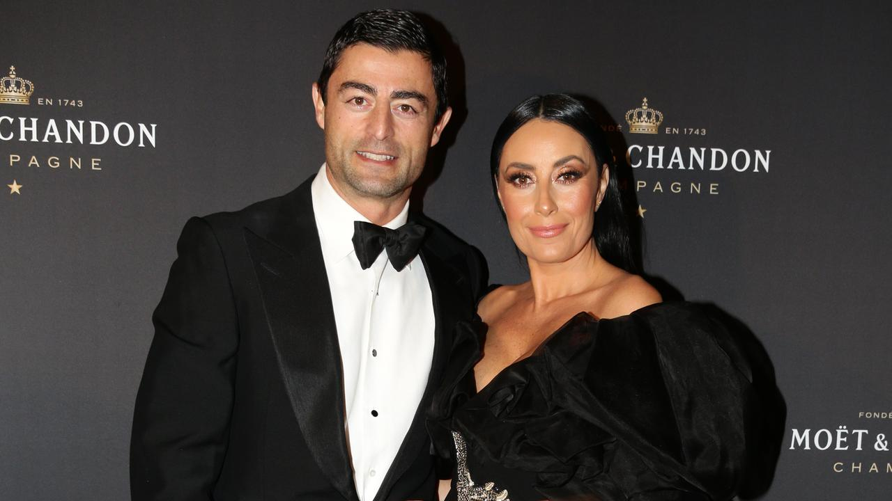 Anthony Minichiello with wife Terry Biviano.