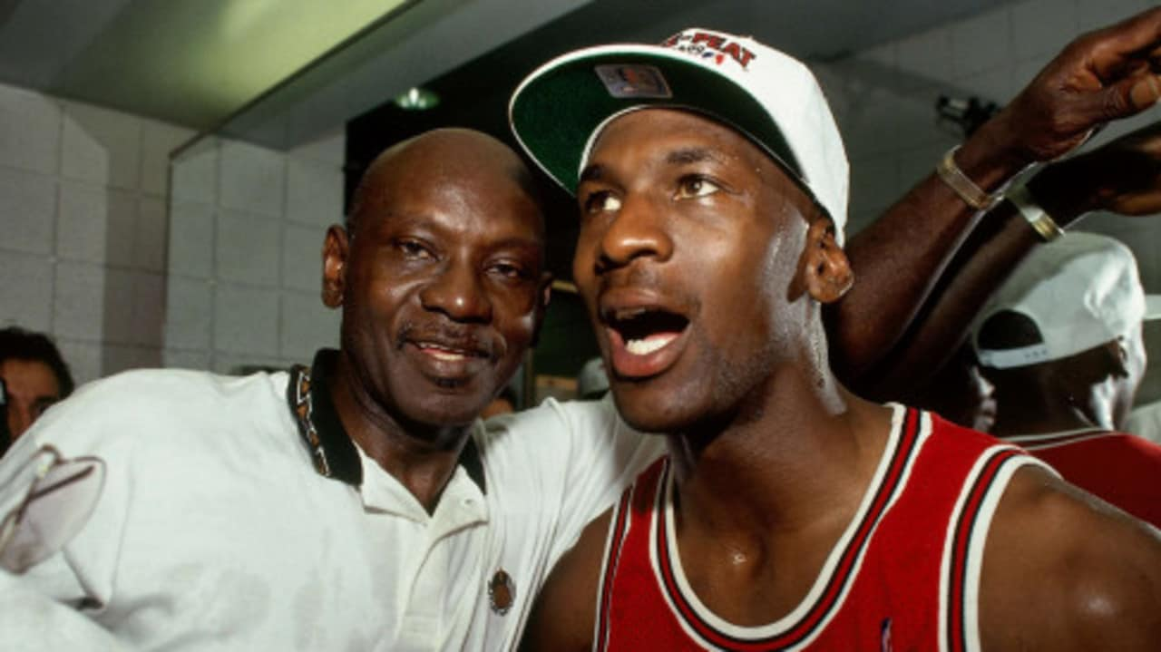 Michael Jordan's father was murdered on the side of the road.