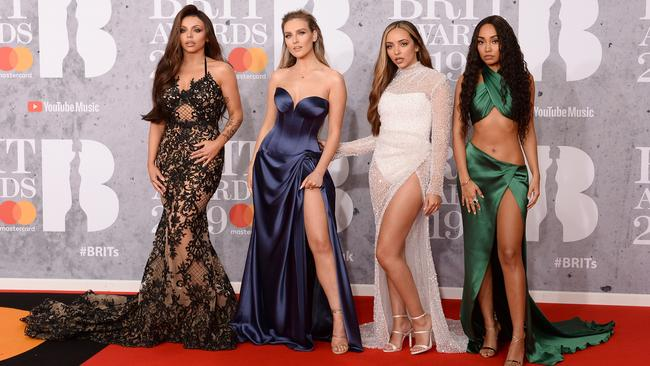 Little Mix (L-R): Jesy Nelson, Perrie Edwards, Jade Thirlwall and Leigh-Anne Pinnock. Picture: Jeff Spicer/Getty