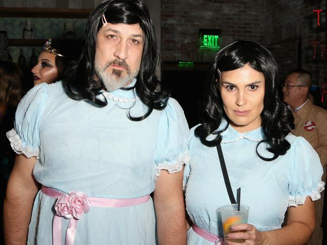 Joey Fatone and Izabel Araujo.