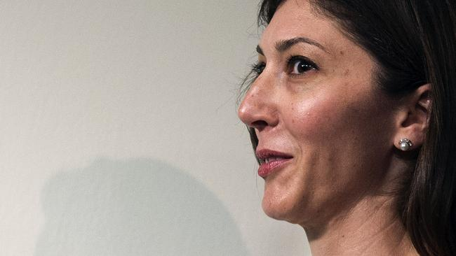 Lisa Page. Picture: Andrew Caballero-Reynolds/AFP