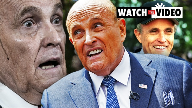 How Rudy Giuliani lost the plot: From New York hero to eccentric lawyer