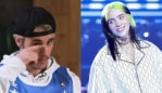 Justin Bieber wants to protext Billie Eilish. Image L: Instagram. Image R: Getty