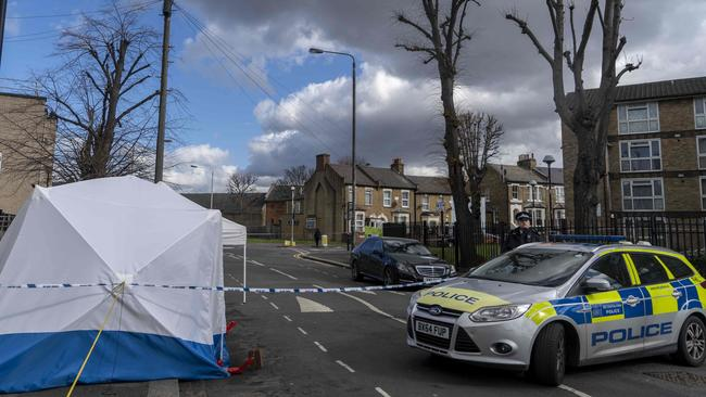 "A series of stabbings have prompted warnings of a ""national emergency"" in the UK. Picture: AFP"