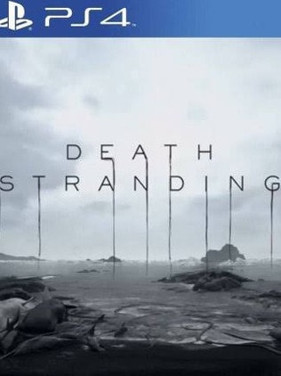 The Death Stranding game for PlayStation 4.