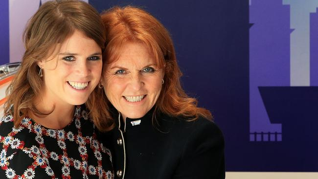 It is believed Prince Philip has a frosty relationship with Princess Eugenie's mother, Fergie. Picture: Peter Byrne/PA Images via Getty Images