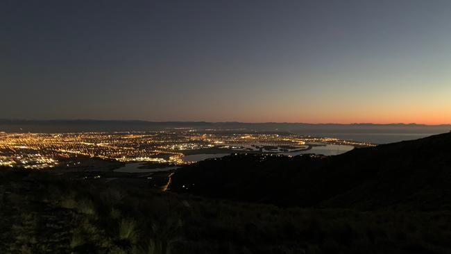 Sunrise over Christchurch. Picture: Supplied/Bronte Coy