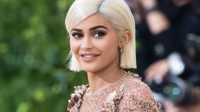 Kylie Jenner at the 'Rei Kawakubo/Comme des Garcons: Art Of The In-Between' Costume Institute Gala at Metropolitan Museum of Art on May 1, 2017 in New York City. Photo: Gilbert Carrasquillo/GC Images.